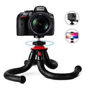 12 inch Gorilla Flexible Tripod Stand 360 Degree Spherical Waterproof Tripods for Phone Cameras DSLR