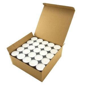 Tealight Wax Candles  Smokeless White Unscented Devotional for Decoration at Home Spa Office Party Festival | 4.5 Hrs Long during Time (White,100)
