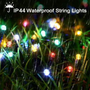 Outdoor Indoor 50 Meter String Lights 200 LEDs 8 Modes Waterproof Decoration Fairy Lights for Patio Wall Party Wedding Diwali Decoration Lights (Multi-Color)