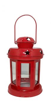 EYUVAA Metal Hanging Lantern Lamps Tealight Holder With Tealight Candle