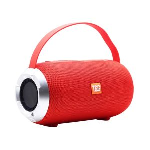 EYUVAA Portable Wireless Bluetooth Speakers Big Magicbox Stereo Loud Speaker for Indoor Outdoor (10W, TWS)-Red
