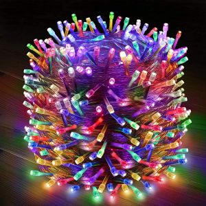 EYUVAA Premium 600 LED 100 Meter String Lights for Decoration, Waterproof Indoor Outdoor 8 Modes Fairy Lights for Patio Wall Party Wedding Diwali Decoration Lights (Multi-Color)