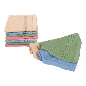 EYUVAA Luxury Face Towel Set of 3 | 100% Cotton |Ultra Soft, Absorbent & Quick Dry Face Towal, Hanky for facewash,Gym,Travel,Spa,Beauty Salon and Yoga