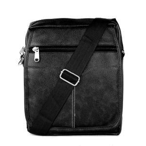 EYUVAA Pu Leather Office/Travel Casual Crossbody Bag For Mens