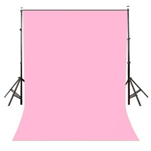 Lycra Wrinkle Resistant pink Screen Photography Background Cloth for Photoshoot Portrait Video Shooting (8x12 ft) (Pink)